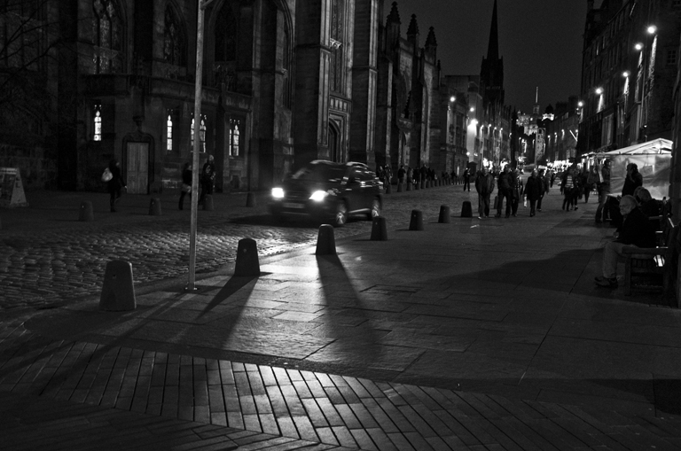 Royal Mile Shadows